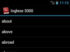 Dizionario Inglese 3000 Pro 1.3 Screenshot