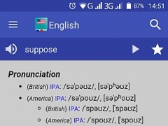 Review Screenshot - Offline Dictionary – Your Handy Pocket Dictionary
