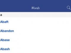 English Esperanto Dictionary - A useful dictionary for students of Esperanto 1.0 Screenshot