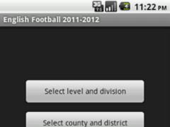 English Football 2011-2012 1.0.5 Screenshot