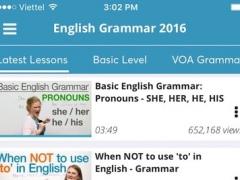 English Grammar - Basic rules of learning language 1.1 Screenshot