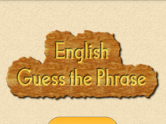 English Guess The Phrase 1.18 Screenshot