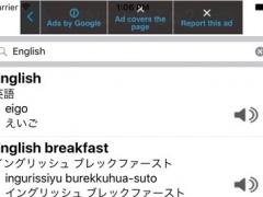 English Japanese Romaji Dictionary 1.0 Screenshot