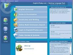 English Language Desktop Edition 1.08 Screenshot