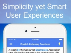 English Listening Practices - Smart tool to improve your listening skill 1.9.4 Screenshot