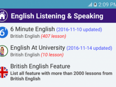 English Listening & Speaking 1.12.15 Screenshot