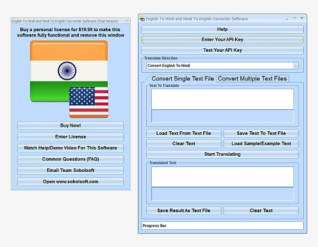 English To Hindi and Hindi To English Free Download