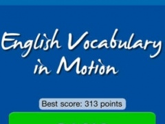 English Vocabulary in Motion 1.0.1 Screenshot