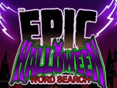 Epic Halloween Word Search - giant spooky wordsearch puzzle 1.11 Screenshot