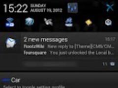 EpicBlue CM9/10 Theme DONATE 2.0.7 Screenshot