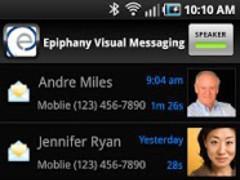 Epiphany Visual Voice Mail 3.8.6 Screenshot
