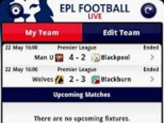 EPL Football Live 1.3 Screenshot
