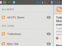 EPL News and Report 1.0 Screenshot