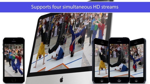 Epoccam hd wireless computer webcamera