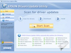 EPSON Drivers Update Utility For Windows 7 9.5 Screenshot