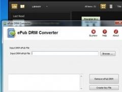 ePub DRM Converter 2.1.0 Screenshot