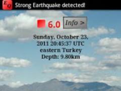 Equake App Widget 1.11 Screenshot