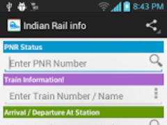 eRail - Indian Rail Live Info 1 1 Free Download