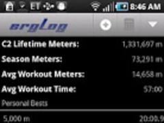 ergLog 1.3.2 Screenshot