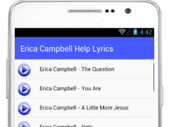 Erica Campbell Help Lyrics 1.0 Screenshot