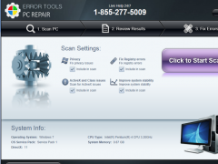 ErrorTools PC Repair 1.0 Screenshot