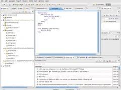 Eslink Eclipse SAS Integration Plugin 0.8.0 Screenshot