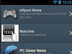 eSport News 1.0 Screenshot