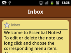 Essential Notes 1.2.1 Screenshot