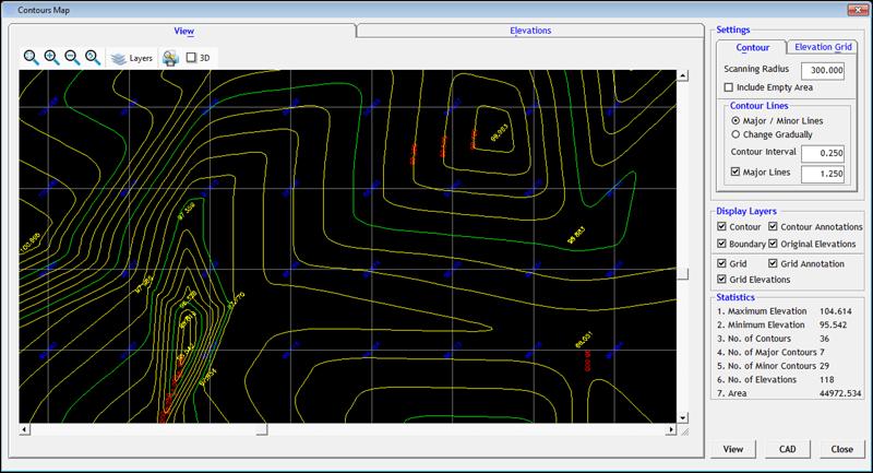 topography software esurvey cad