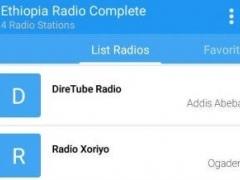 Ethiopia Radio Complete 1.0 Screenshot