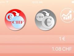 Euro to Swiss Franc Converter Premium 1.0 Screenshot