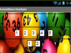 Euromillion Lotto Number Pick 1.0 Screenshot