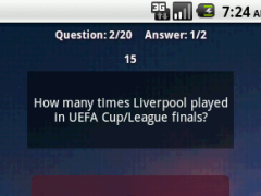 Europa Football League Quiz 1.0.3 Screenshot