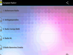 European Radio 1.0 Screenshot