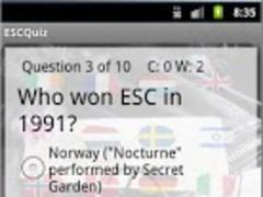 Eurovision QuizPack, Baku 2012 6.0 Screenshot