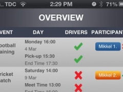 Eventfixer coordinate driving to sport events 1.0.2 Screenshot