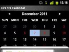 Events Calendar 1.01 Screenshot