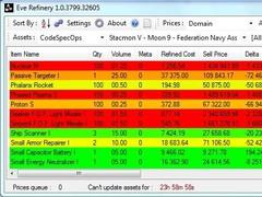 EveRefinery  Screenshot