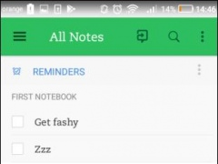 Review Screenshot - Cloud based collaborative shopping lists