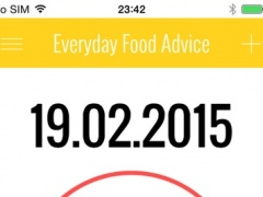 Everyday Food Advice 2.0 Screenshot