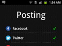 Everypost (Facebook, Twitter) 1.1.7 Screenshot