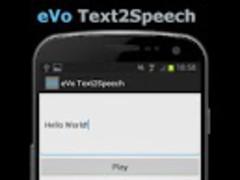 eVo Text2Speech 1.2.1 Screenshot