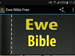 Ewe Bible Free 1.0 Screenshot