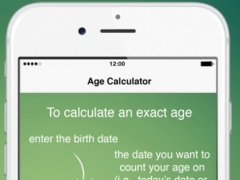 Exact Age Calculator 1.2 Screenshot