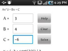 Exact Quadratic Solver 1.0 Screenshot