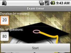 Exam timer 1.22 Screenshot