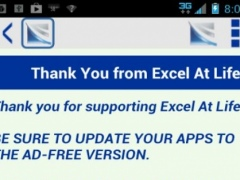 Excel At Life Ad-Free Support 1.3 Screenshot