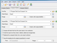 Excel Compare 3.0 Screenshot
