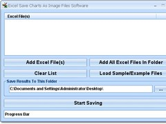 Excel Save Charts As Image Files Software 7.0 Screenshot