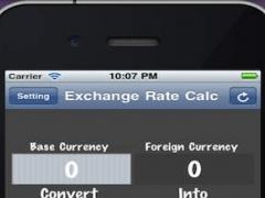 Exchange Rate App 1.0D Screenshot